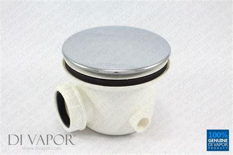 Steam Shower Whirlpool Bath steam shower waste trap with chrome cover 90mm bulb drain
