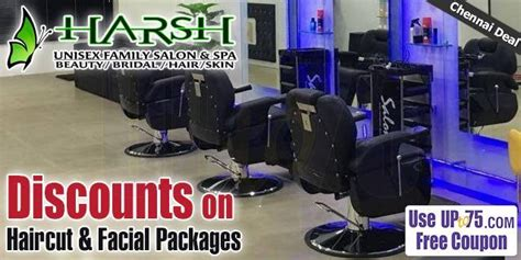 salon coupons chennai harsh family salon and academy old washermanpet chennai