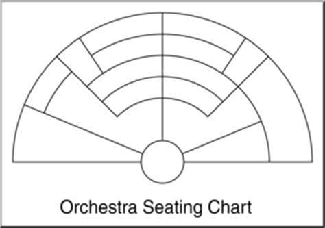 orchestra layout template clip art orchestra seating chart b w 1 blank i abcteach