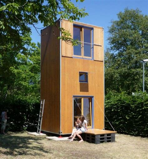 small 3 story house plans homebox 1 portable three story tiny house interesting solution for interim housing