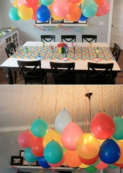 Balloon Simple Decoration by Best 25 Simple Birthday Decorations Ideas On