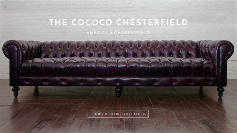 at home chesterfield sofa chesterfield sofas modern furniture made in usa cococohome