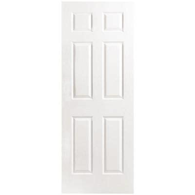 6 panel interior doors home depot textured 6 panel hollow primed composite single