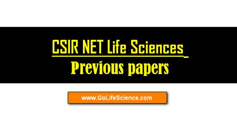 pattern of csir net paper csir syllabus for life science 2017 and old papers