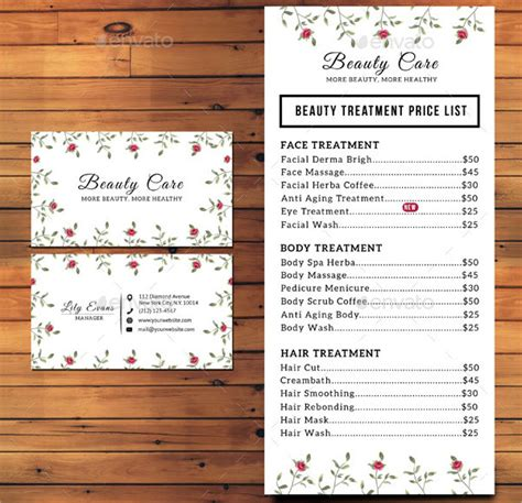 price list design template 23 price list templates free premium
