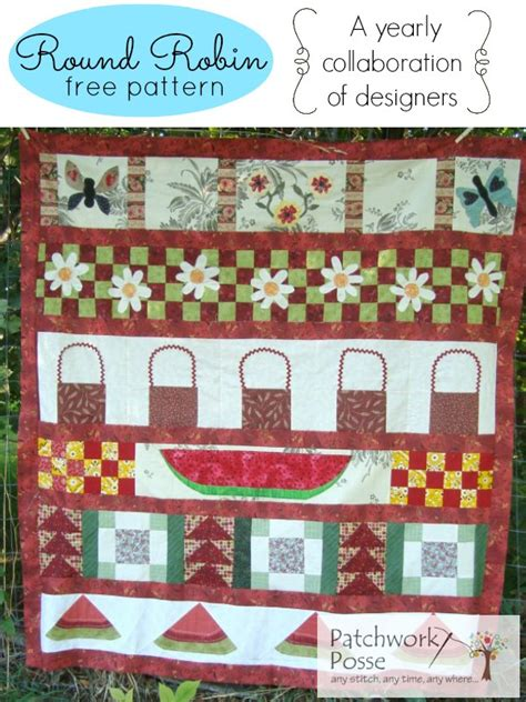 Round Robin Collection Free Quilt Patterns | round robin collection free quilt patterns