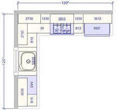 10 X 12 Kitchen Layout 10 X 10 Standard Kitchen 15 X 9 Kitchen Layouts