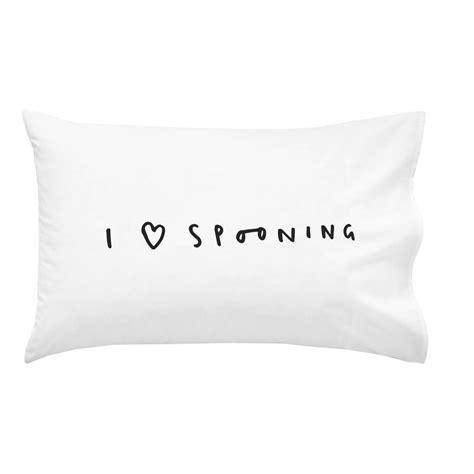 Pillow For Spooning by I Spooning Pillow By Company Notonthehighstreet