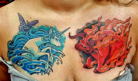 last unicorn tattoo last unicorn by neumann tattoonow