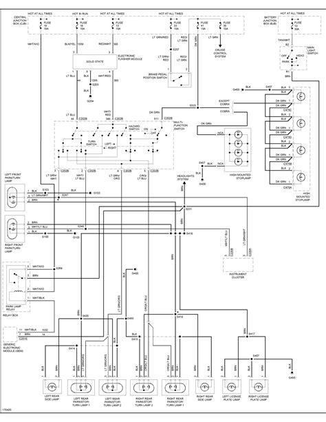 mustang 2003 start wiring diagram autos weblog