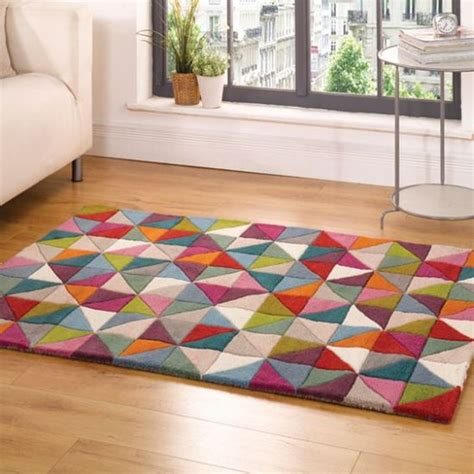 rugs uk 35 beautiful geometric rugs for living room ultimate