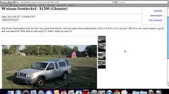 craigslist illinois  cars  sale  owner youtube
