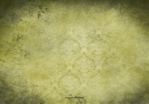 Green Vintage by Green Vintage Grunge Background Free Vector