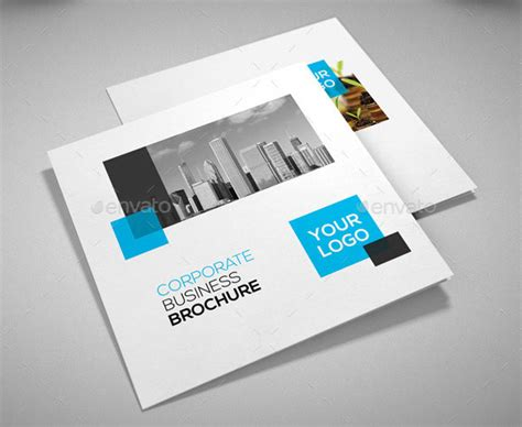company profile web design inspiration 21 striking square brochure template designs idevie