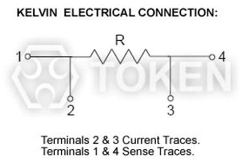 current sense resistor kelvin connection 4 terminal current sensing resistor lsq token components