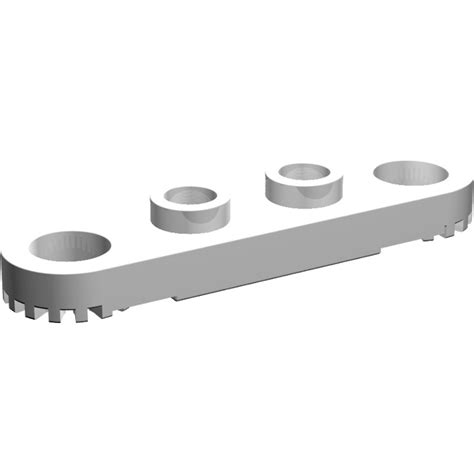 Lego 2 X 4 Plates With Technic Holes Pieces Lego Technic lego technic plate 1 x 4 with holes 4263 brick owl lego marketplace