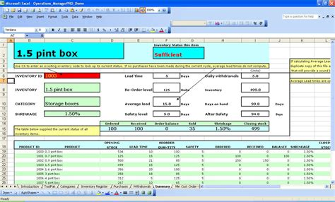 inventory management template excel best photos of excel inventory template excel inventory