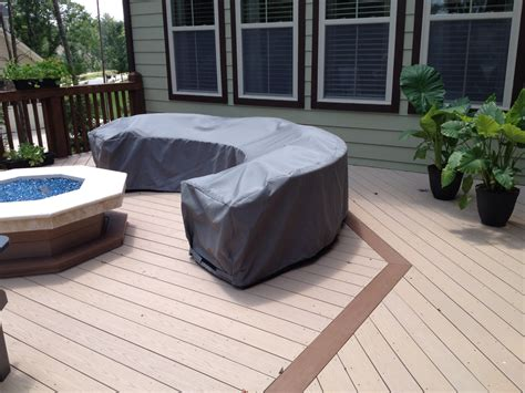 Custom Patio Furniture Covers Outdoor Sectional Covers Outdoor Sectional Furniture Covers