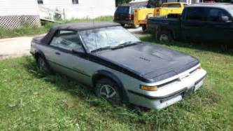 1987 Pontiac Sunbird Gt Find Used 1987 Pontiac Sunbird Gt Turbo Convertible