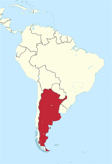 south america map argentina argentina map south america