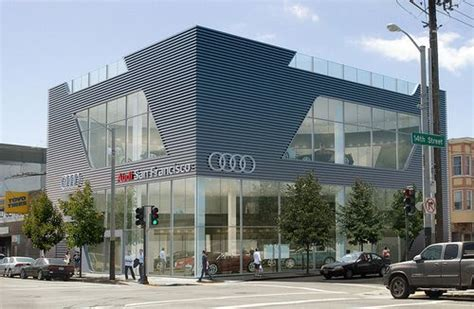 audi dealership design planning commission approves audi dealership for the
