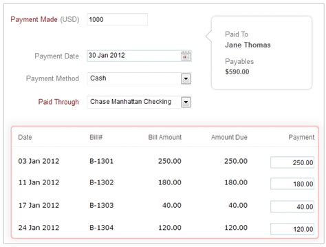 zoho books says don t fret while paying bills