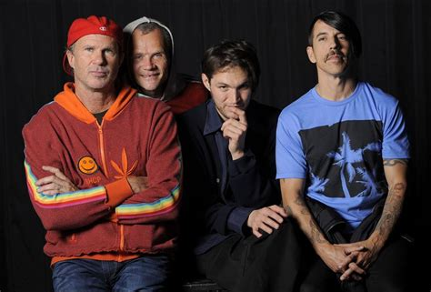 red hot chili peppers red hot chili peppers putting best foot forward for rock