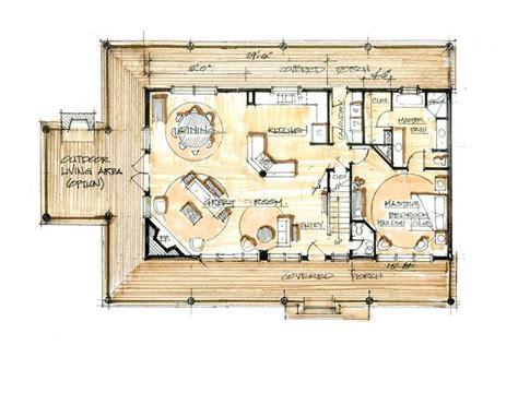 large cabin floor plans quot big rock lodge main floor quot great layout it s just that