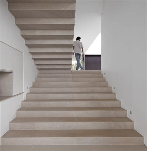 Stairs Without Banister by