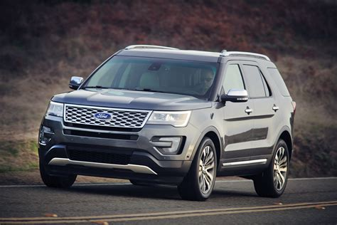 cars ford explorer 2016 ford explorer review ratings specs prices and