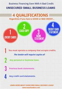 business credit card bad credit ok business financing even with a bad credit unsecured small business loans