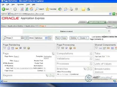 tutorial on oracle apex oracle apex tutorial 8 up and downloading files part 1