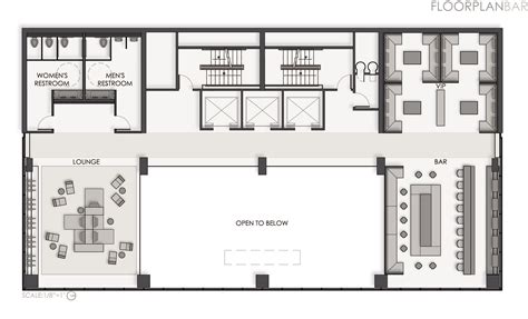 floor plan bar bar and restaurant floor plan quotes