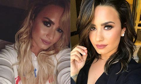 demi lovato new blonde hair demi lovato debuts blonde hairstyle with selfie on instagram