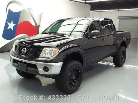 2012 nissan frontier bed extender for sale 12 used cars from 15 085 sell used 2010 nissan frontier se crew 4x4 lift bed extender 64k texas direct auto in stafford