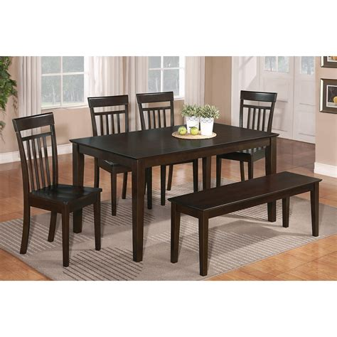 dining room set with bench awesome dinette sets with bench homesfeed