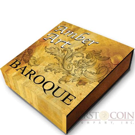 baroque basic art series 383654749x niue island baroque series amber art 5 silver coin 2016 high relief antique finish amber inlay 2 oz