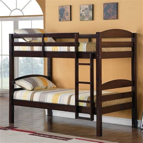 Tempat Tidur Kayu Single Bed solid wood bunk bed 2630 sleep masters canada mississauga best prices sales