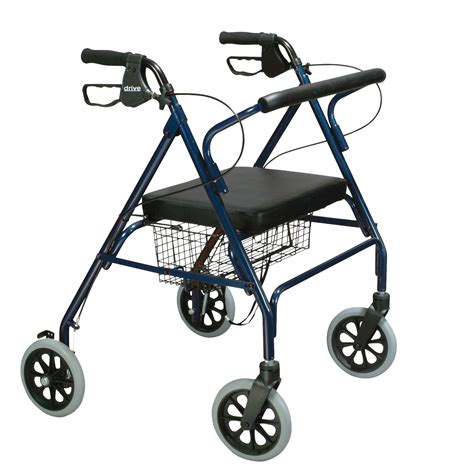 drive walker with seat drive heavy duty bariatric rollator walker with