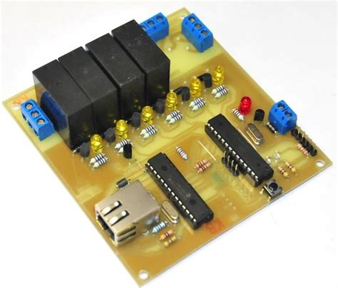web based relay controller for home automation embedded lab