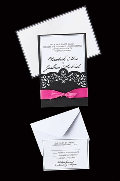 Pin By Bridget Austin On A Girl Can Dream Pinterest Hobby Lobby Wedding Invitation Template