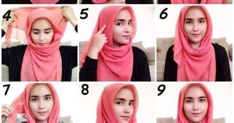 tutorial hijab terkini 2017 10 tutorial hijab segitiga simple paling terkini 2017