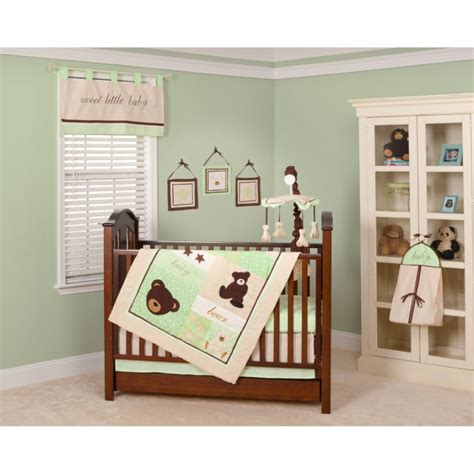 baby nursery charming baby room decoration with brown wooden crib and bedding also blanket