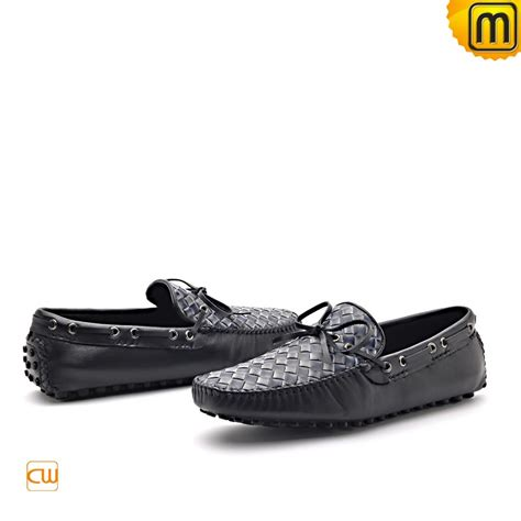 mens leather driving loafers shoes cw712037