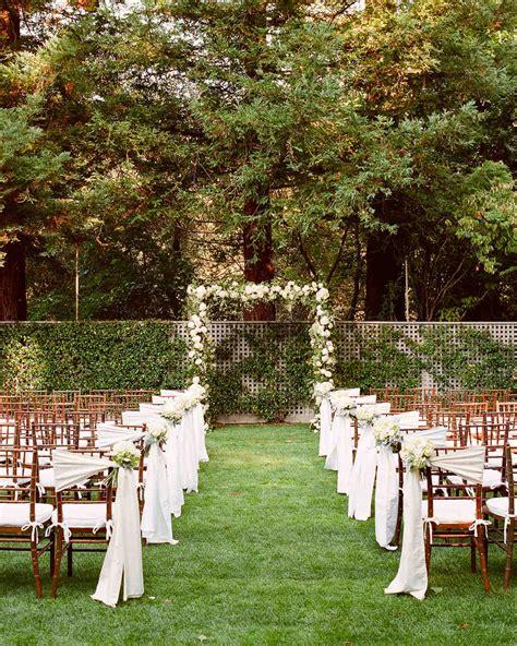 a formal outdoor destination wedding in napa california