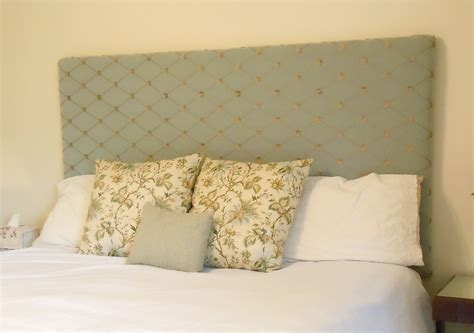 Diy Upholstered King Headboard Upholstering A King Sized Headboard