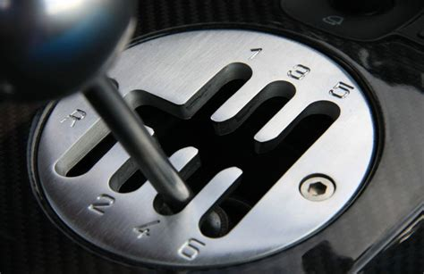 Are Lamborghinis Stick Shift Some Delicious Gated Shifter Goodness Courtesy Of The