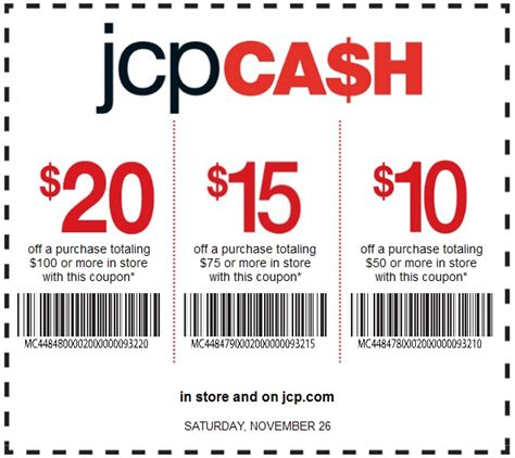 printable coupons for jcpenney my jc penney printable coupons my