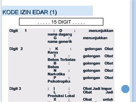 Uk Standar Kode Tr12434 1 registrasi obat dan produk biologi