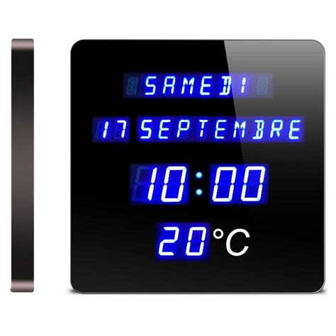 horloge calendrier digitale horloge calendrier digitale